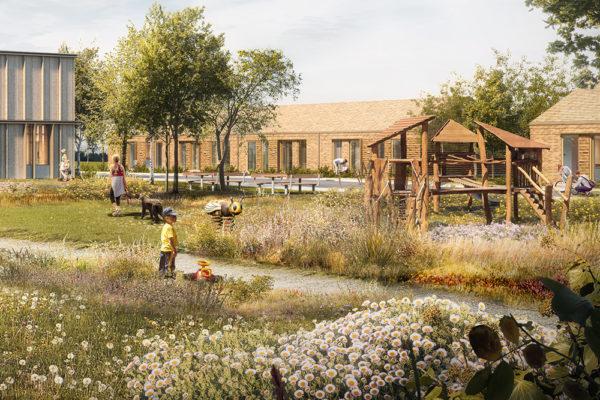 Fælleshus Årstiderne Arkitekter 05.2020 legeplads_uderum